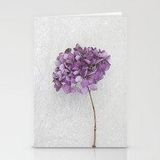 Purple Hydrangea Stationery Cards