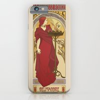 iPhone & iPod Case featuring The Red Priestess by ElinJ