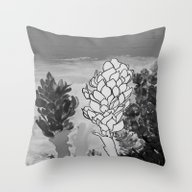 Alpinia Purpurata – Re… Throw Pillow