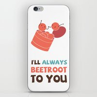 I'll Always Beetroot (Va… iPhone & iPod Skin