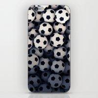 Foot-ball pattern iPhone & iPod Skin