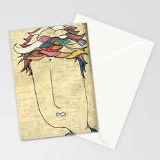 I don't need eyes to see where I am going.. Stationery Cards