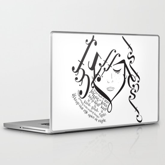 for those of you falling in love Laptop & iPad Skin