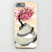 cherry blossom iPhone & iPod Cases featuring Cherry Blossom by Freeminds