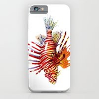 iPhone & iPod Case featuring Lionfish by Sam Nagel