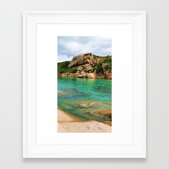 Sardgna  Framed Art Print
