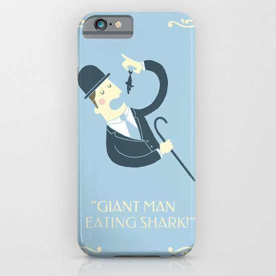 Giant man eating shark!! iPhone & iPod Case