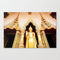 Buddha Temple Canvas Print
