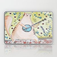 Ginger cat Laptop & iPad Skin