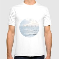 Fly Away With Me III Mens Fitted Tee White SMALL