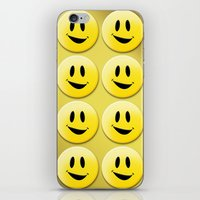 Smiley Smileys! iPhone & iPod Skin