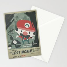 mario bros 4 fan art Stationery Cards