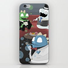 Bubble Bobble Cocktail Party iPhone & iPod Skin