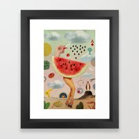 Xposed Collection -- Juicy Framed Art Print