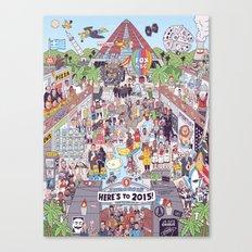 2015 Canvas Print