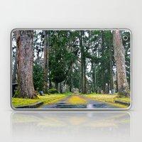Cemetery road Laptop & iPad Skin