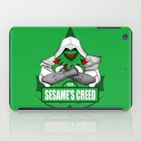 Sesame's Creed iPad Case