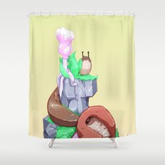 Aspiration Shower Curtain