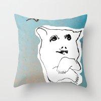 Bear1 Throw Pillow