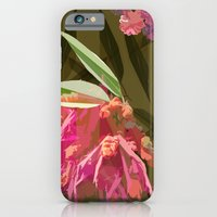 iPhone Cases featuring Spiky Flower by lalaprints
