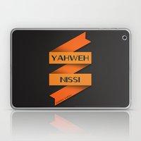 YAHWEH NISSI  Laptop & iPad Skin