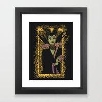 The Dark Faerie Framed Art Print