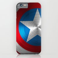 iPhone Cases featuring Captain America by Kosept