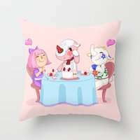 Animal Crossing :: Cake … Throw Pillow