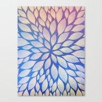Petal Burst #17 Canvas Print