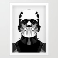 Polygon Heroes - The Hor… Art Print