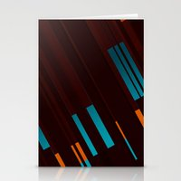 Canopus Blue Orange Stationery Cards