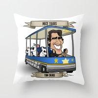 Mice Tours (Tom Cruise) Throw Pillow