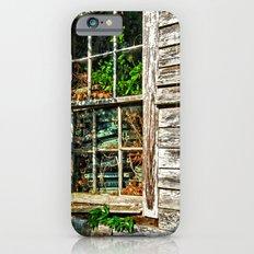 Overgrown Behind the Window iPhone 6 Slim Case
