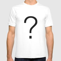 er? Mens Fitted Tee SMALL White