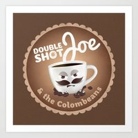 Doubleshot Joe Art Print