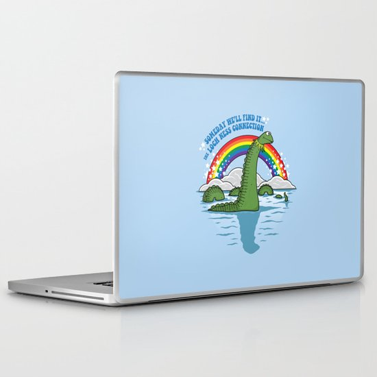The Lochness Connection Laptop & iPad Skin