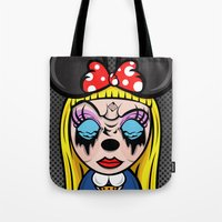 Mickey Girl Tote Bag
