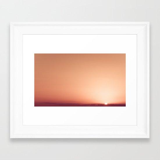 Sky #5 Framed Art Print