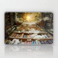 Inkitt empowers authors to become the kings and queens of the universe Laptop & iPad Skin