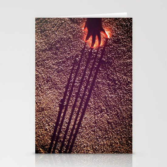 Fire / Spider Man, What Do You See? Stationery Card