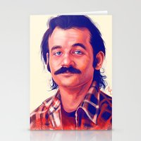 bill murray Stationery Cards featuring Young Mr. Bill Murray by Thubakabra