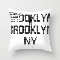 BROOKLYN BROOKLYN Throw Pillow