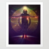 Space Oddity Art Print