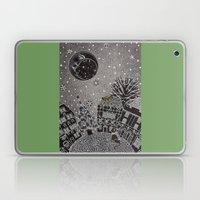 'Twas A Moonlit Winter N… Laptop & iPad Skin