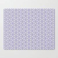 Karthuizer Blue & White … Canvas Print
