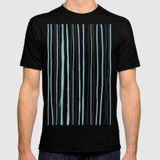 Vertical Living Salt Water SMALL Black Mens Fitted Tee