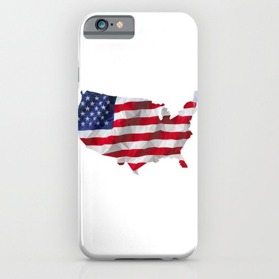 The Star-Spangled American Flag iPhone & iPod Case