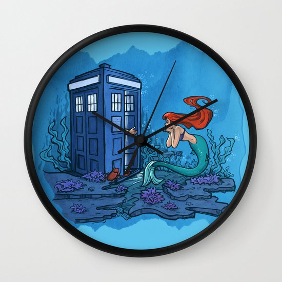 Part of Every World Wall Clock