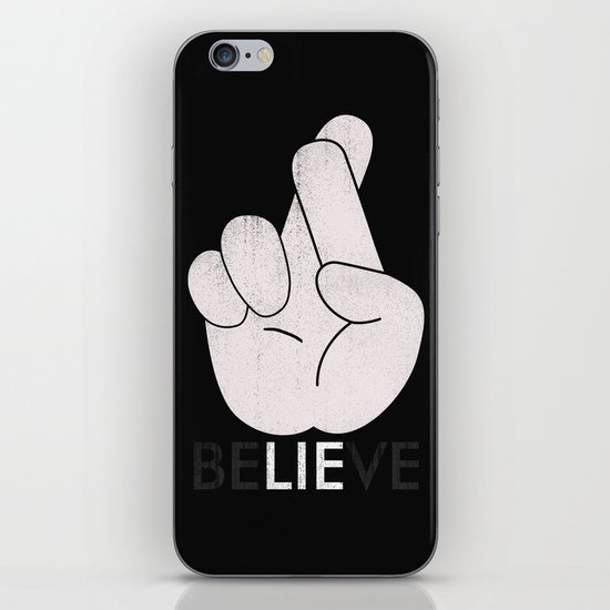 Finger Crossed iPhone & iPod Skin