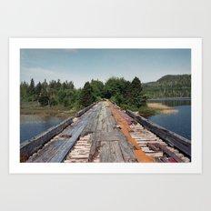 Rainbow Bridge Art Print